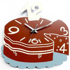 01-223 Часы настенные Торт 29 * 30,5 * 4,5см