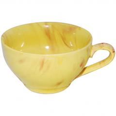 50196 Чашка Чайная Радуга желто-красная 380мл