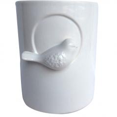647-021 flowerpots bird 13 * 13 * 16 cm