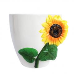 647-019 flowerpots Sunflower 16 * 13 * 13 cm
