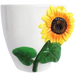 647-018 flowerpots Sunflower 15.5 * 13 * 16 cm