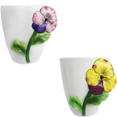 647-017 flowerpots Violet 16 * 13 * 13 cm