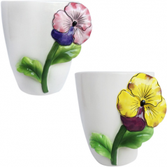 647-016 flowerpots Violet 15.5 * 13 * 16 cm