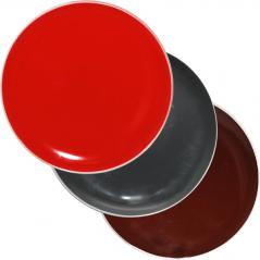 3021-4 Тарелка 83 цвета <a href='http://snt.od.ua/ru/poisk.html?q=Микс' />Микс</a> белый ободок