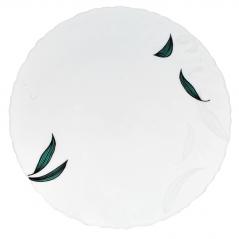 30030-140807 Тарелка 7,5 'Зеленый листок