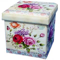 07-028 Padded stool folding 36 * 36 * 36cm