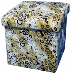 07-032 Padded stool folding 36 * 36 * 36cm