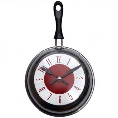 01-051 Часы настенные Сковорода 21*36*4.5 см