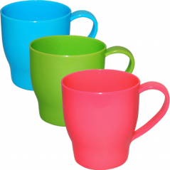 90804 Cup 550ml 3 colors Mixed