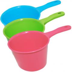 Bucket 90 861 15.5 12.5 * 12cm * / 1L, 3 colors Mixed