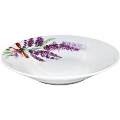 30003-1436 Тарелка 8 суп Лаванда