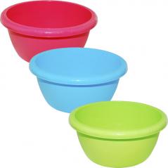 90 841 39 * Bowl 17,5sm / 13l, 3 colors Mixed