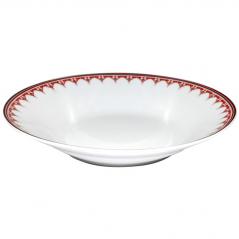 30003-005 Тарелка суп 8 'Вышиванка красный ромб