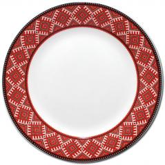 30000-005 Тарелка 7 'Вышиванка красный ромб