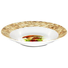 30003-6056 Тарелка суп 8 'Грибочки