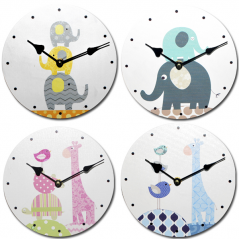 740-037 Childhood  Wall Clock 20cm