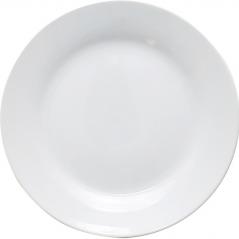 1286 Тарелка белая 8 (001) Хорека
