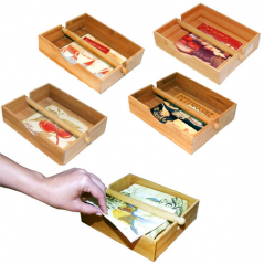 597 подставка для салфеток с зажимом (22х19х5,5см)