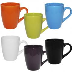 4162-5 Чашка 380мл 6 цветов Микс