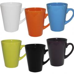 4163-5 Чашка 370мл 6 цветов Микс