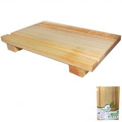 8904 Доска кухонная для суши 20 * 30см (h-4см)