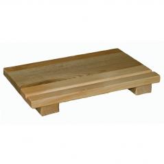 8905 Доска кухонная для суши 20 * 25см (h-4см)
