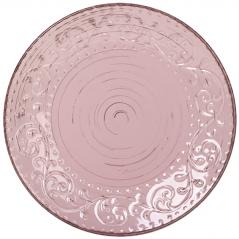 5110-1 Тарелка 10,5 Античная розовая