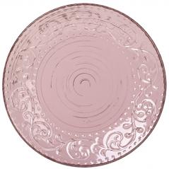5110-2 Тарелка 8 Античная розовая