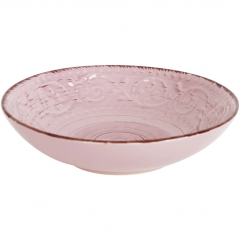 5110-3 Тарелка 7,5 суп. античная розовая