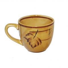 50199 Чашка Одесса рисунок осень коричневая 220мл