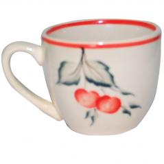 50199 Чашка Одесса рисунок Вишня  240мл
