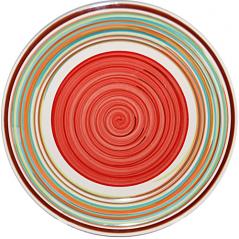 5117-2 Тарелка 7,5 'Полоска красная