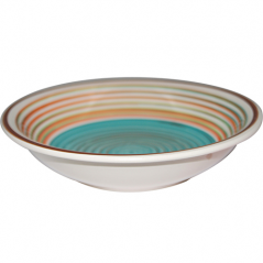 5115-3 Тарелка 8,25 'суп. полоска голубая