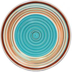 5115-2 Тарелка 7,5 'Полоска голубая