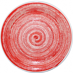 5113-2 Plate 7.5 'Pastel red
