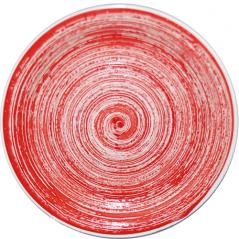 5113-2 Тарелка 7,5 'Пастель красная