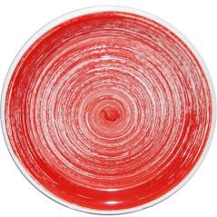 5113-1 Тарелка 10,5 'Пастель красная