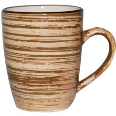 6115 Чашка 360мл Пастель коричневая