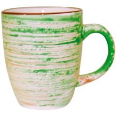 6116 Чашка 360мл Пастель зеленый