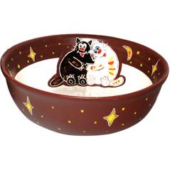 531115 Пиала Толстые коты 500мл