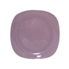 3580 Тарелка квадратная 10,5' фиолетовая