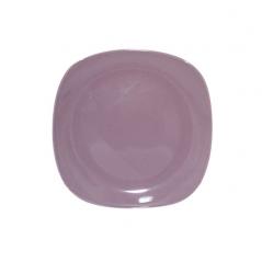 3581 Тарелка квадратная 8' фиолетовая
