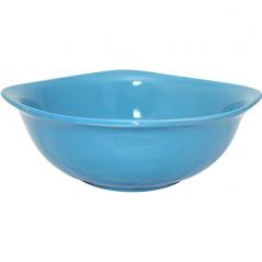 3582 Миска квадратная 6 (d-18см,800мл) голубая