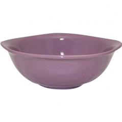 3582 Миска квадратная 6 (d-18см,800мл) фиолетовая