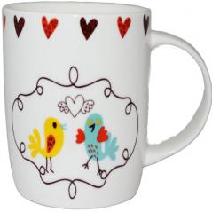 6126 Чашка 350мл Love bird