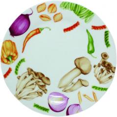75521 Тарелка 10,5 Овощи