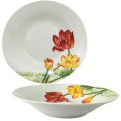 55618 Суповая тарелка 8' Тюльпан