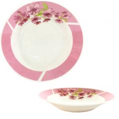 3082-13 Тарелка суп 8 'Цветущая вишня