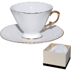 2027 Набор чайный 2пр. Ксения