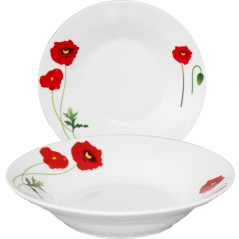 533-17 Суповая тарелка 8' <a href='http://snt.od.ua/ru/poisk.html?q=Мак' />Мак</a>